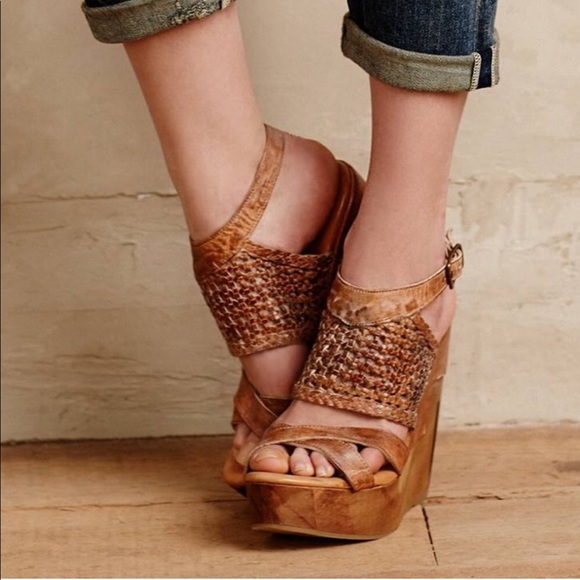 cc7233eb3847 Anthropologie Shoes - Bed Stu Petra Rustic Wedge